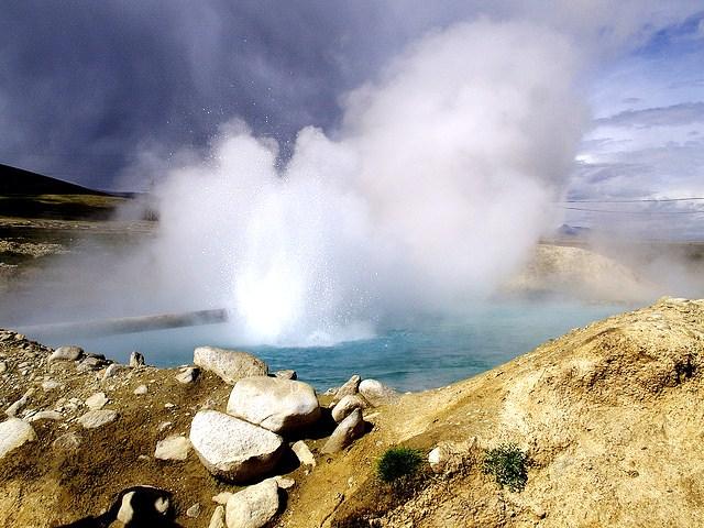 Yangbajain Hot Springs, Tibet