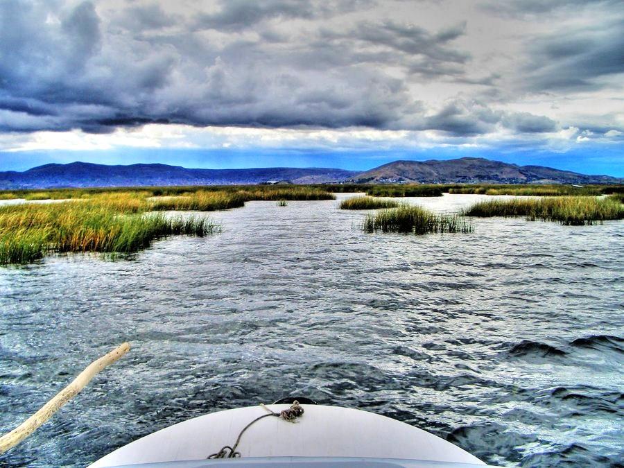 Take a Boat Trip on Lake Titicaca