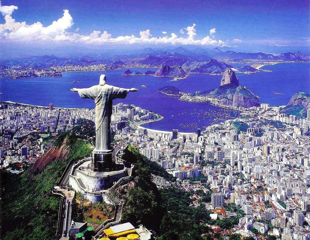 Survey the City of Rio De Janeiro