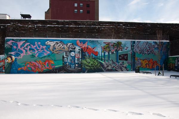 The Graffiti Wall of Fame