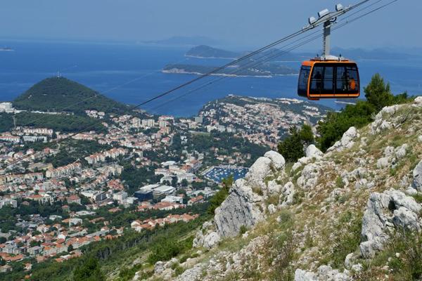 Take the Cable Car up Climb Srdj Mountain
