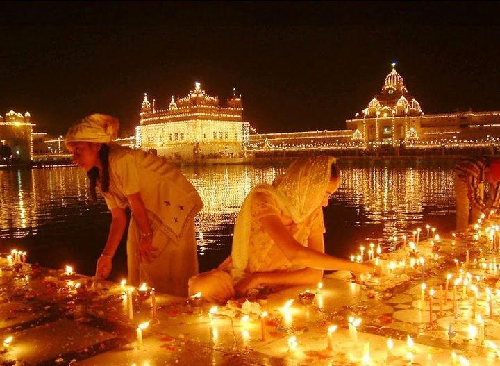 Diwali in Amritsar, Punjab