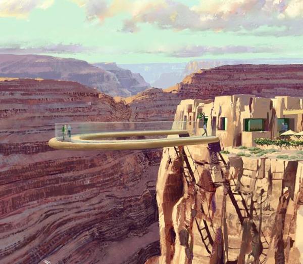 The Grand Canyon Sky Walk, USA