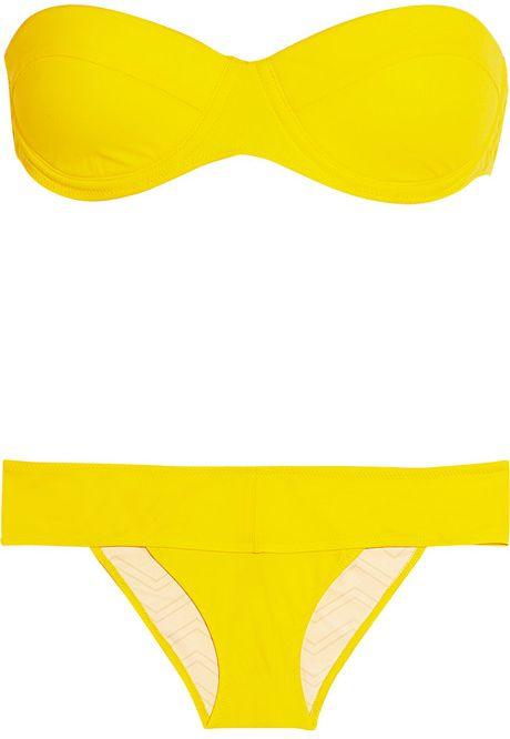 Brightly Colored Bikinis