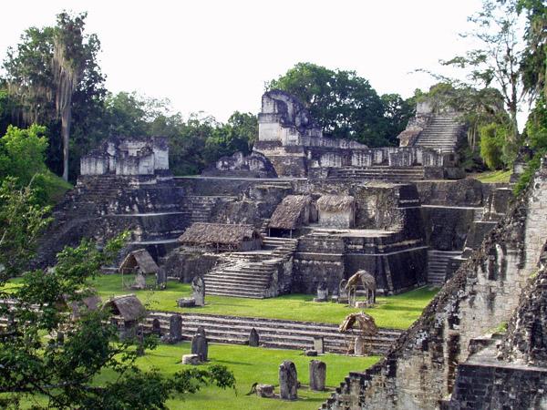 Underground Sites of the Mayans