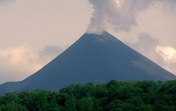 Volcanoes in Maya Country