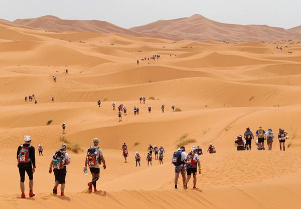 The Marathon Des Sables, Morocco