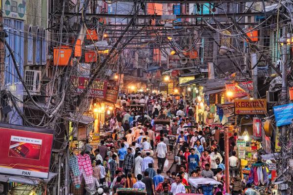 Delhi - Chandni Chowk Market