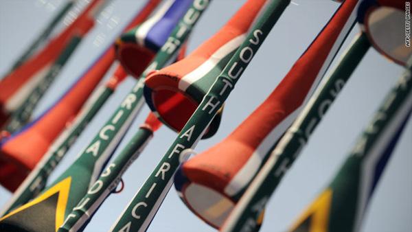 Vuvuzela from South Africa