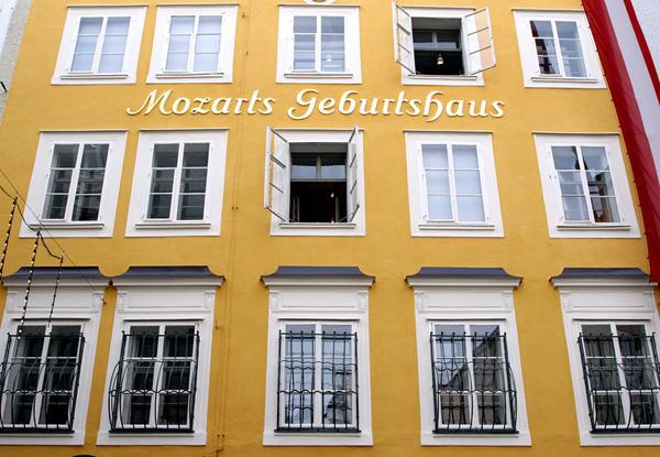 Hear the Sound of Music in Salzburg, Austria