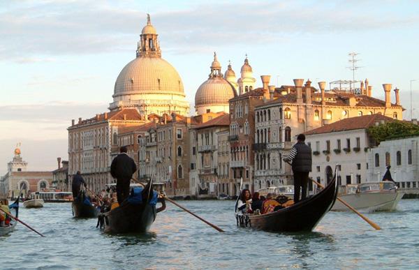 Take a Gondola Ride in Venice, Italy