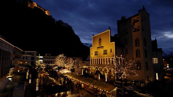 Enjoy the Festivities of the Christmas Market in Vaduz, Liechtenstein