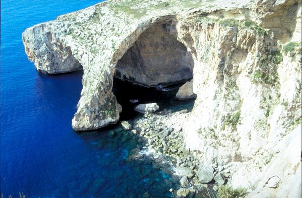 Visit the Blue Grotto in Malta