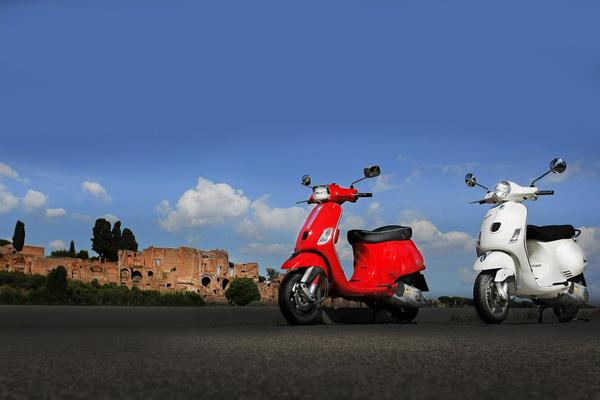 Ride a Vespa in Rome, Italy