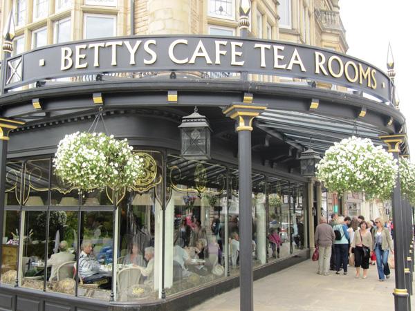 Harrogate Tea Room Betty