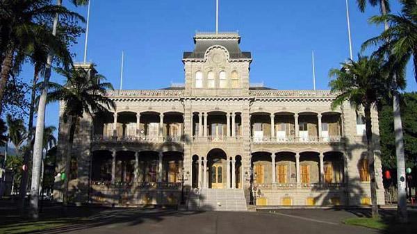 Check out Iolani Palace