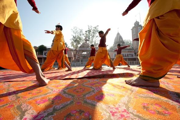 Learn Yoga in an Indian Ashram