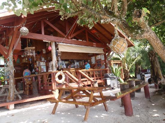 Shipwreck Hut, the Cook Islands