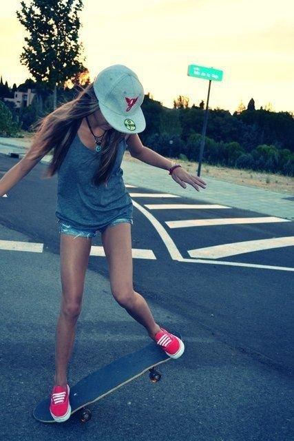 Skater Girl Vans