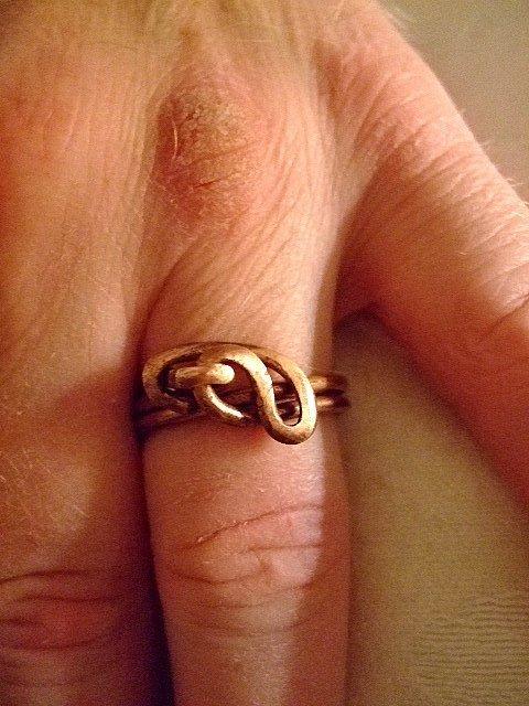 Phoenix Pure Copper Ring for Men