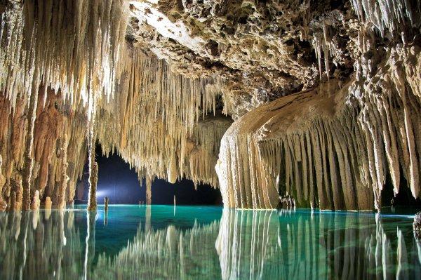 Rio Secreto Cave in Mexico