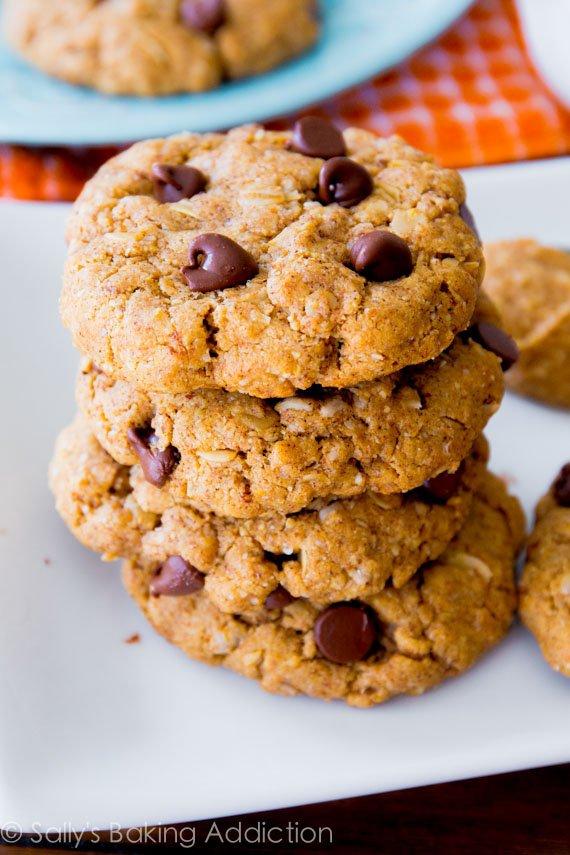 PB Oat Breakfast Cookies