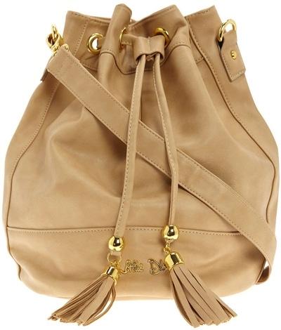 Dorothy Perkins Camel Tassel Duffel Bag