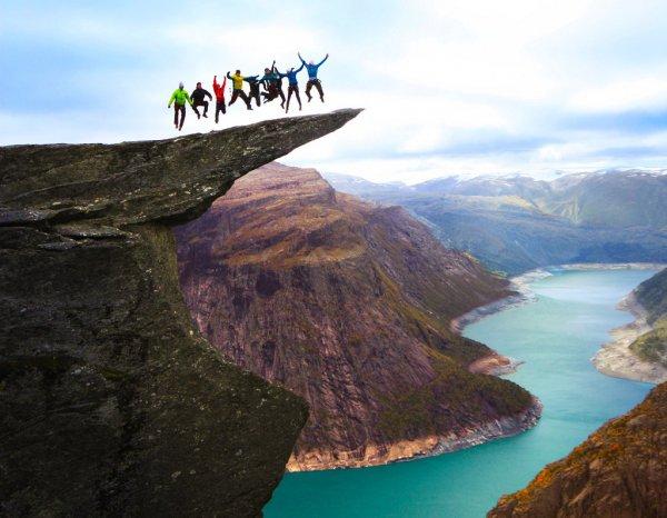 Don't Be a Troll at Trolltunga Skjeggedal, Norway