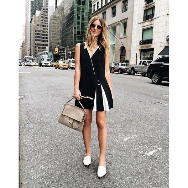 clothing, dress, little black dress, footwear, sleeve,
