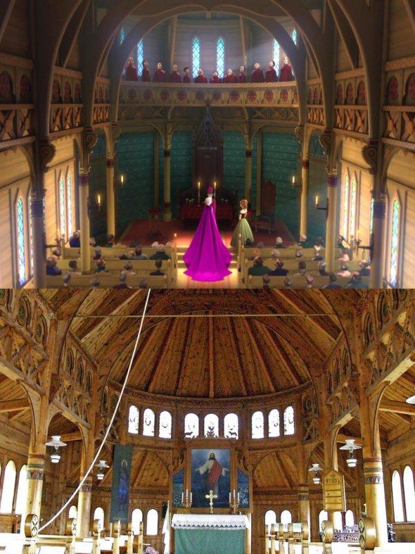 Balestrand, building, place of worship, chapel, church,