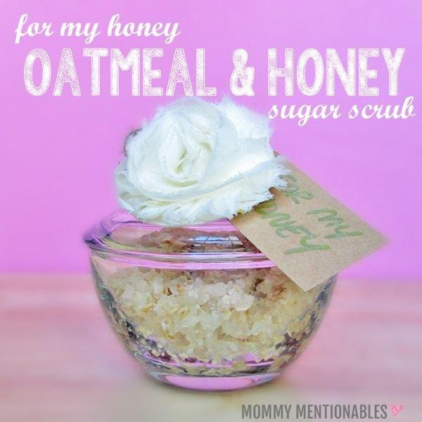 DIY Oatmeal and Honey Sugar Scrub