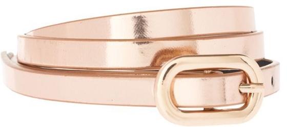 ASOS Mirror Metallic Belt