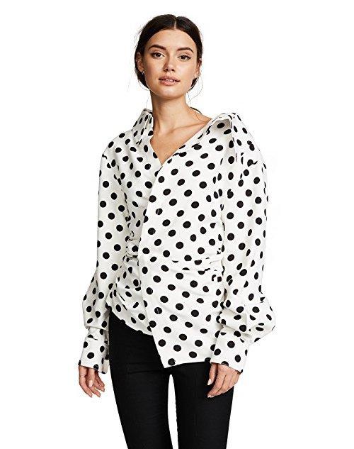 clothing, white, sleeve, polka dot, pattern,