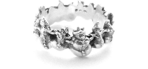 Snowman Ring