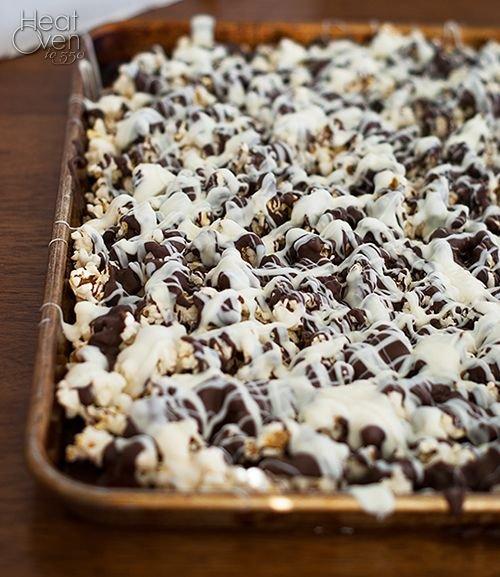 Gourmet Chocolate Covered Popcorn