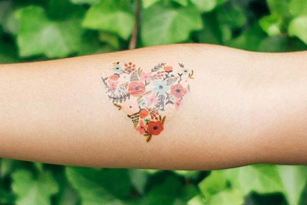green,tattoo,close up,pattern,arm,