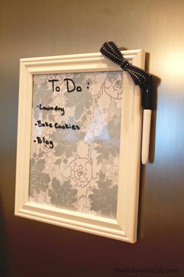 Or a Dry Erase Board