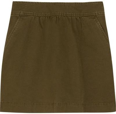 J.Crew Stretch Cotton-Twill Skirt