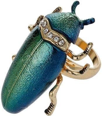 Topshop Beetle Ring