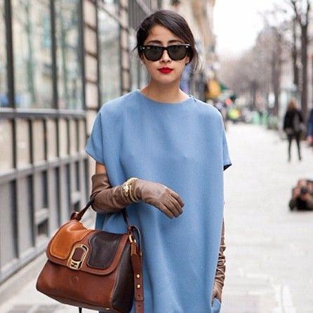 clothing, color, orange, cobalt blue, bag,