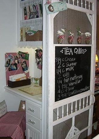Menu Board & Shelf