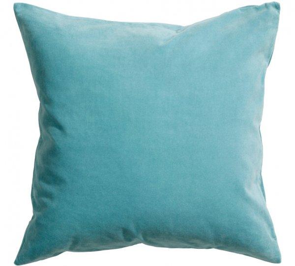 Turquoise Velvet Cushion Cover