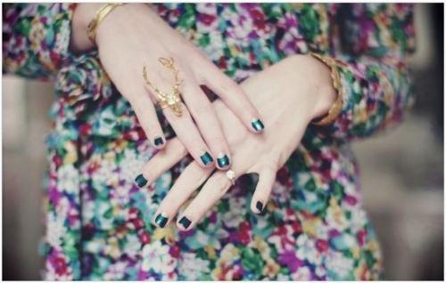 A Pretty Manicure