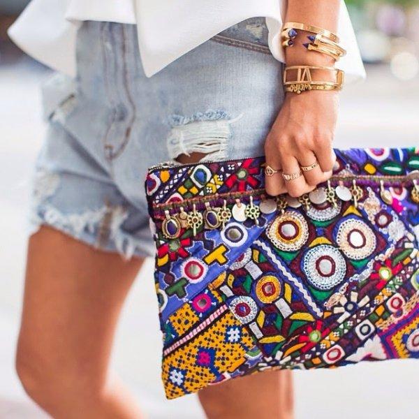 Beaded Bag or Clutch