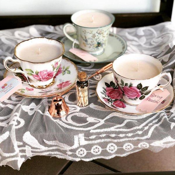 Cup, Teacup, Saucer, Porcelain, Tableware,