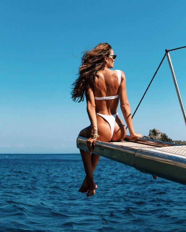 Beauty, Bikini, Vacation, Water, Sea,