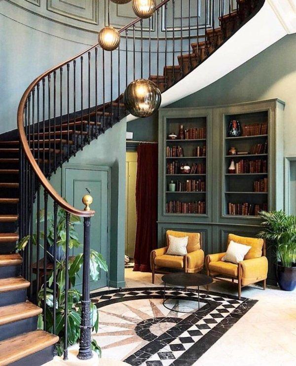 Ceiling, Stairs, Room, Building, Interior design,