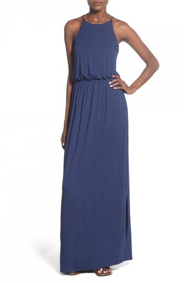 dress, blue, clothing, day dress, cobalt blue,