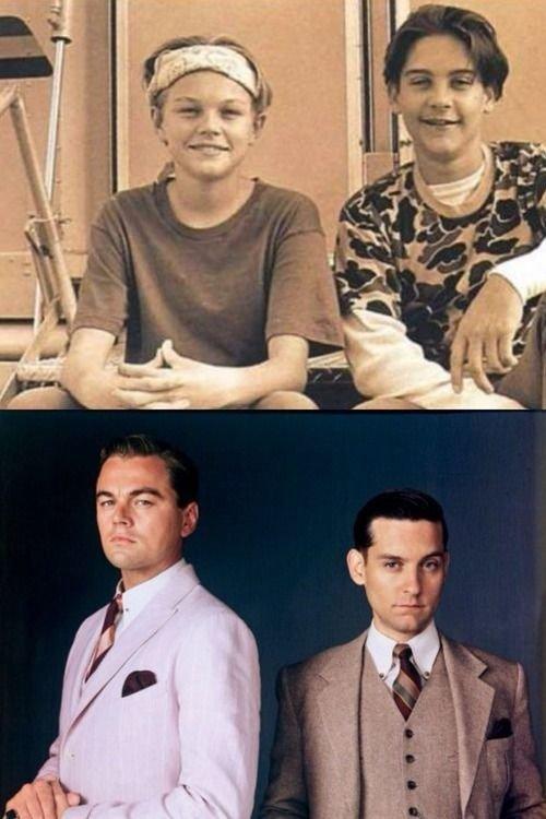 Leonardo Dicaprio & Tobey Mcguire