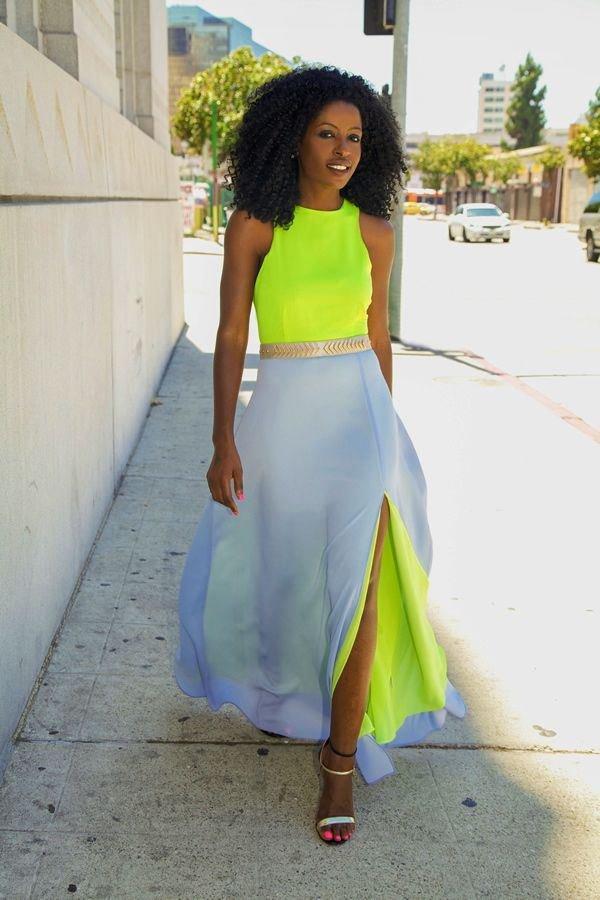 Color-Blocking Dresses